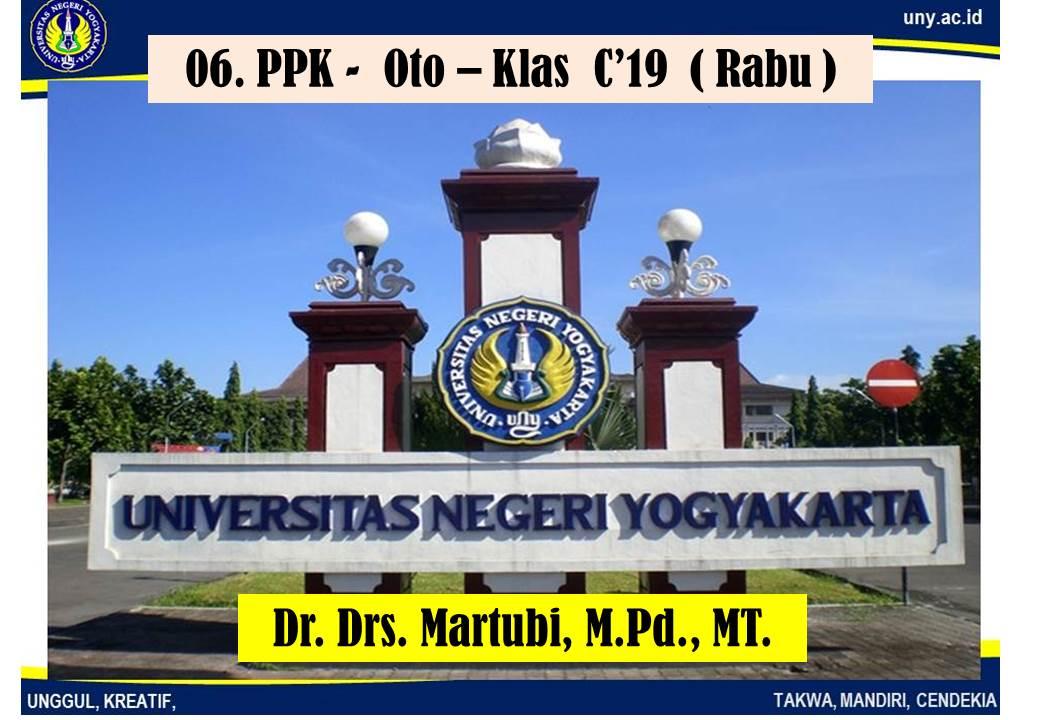 06.  PPK-Oto-Klas C'19 (Rabu)