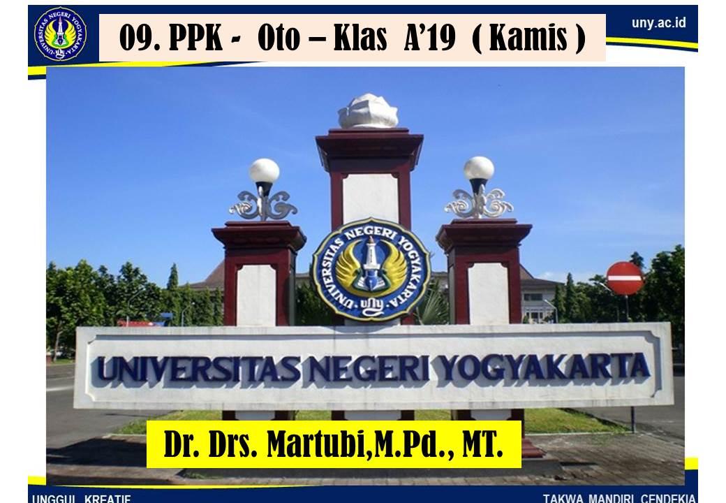 09. PPK-Oto-Klas A'19 (Kamis)