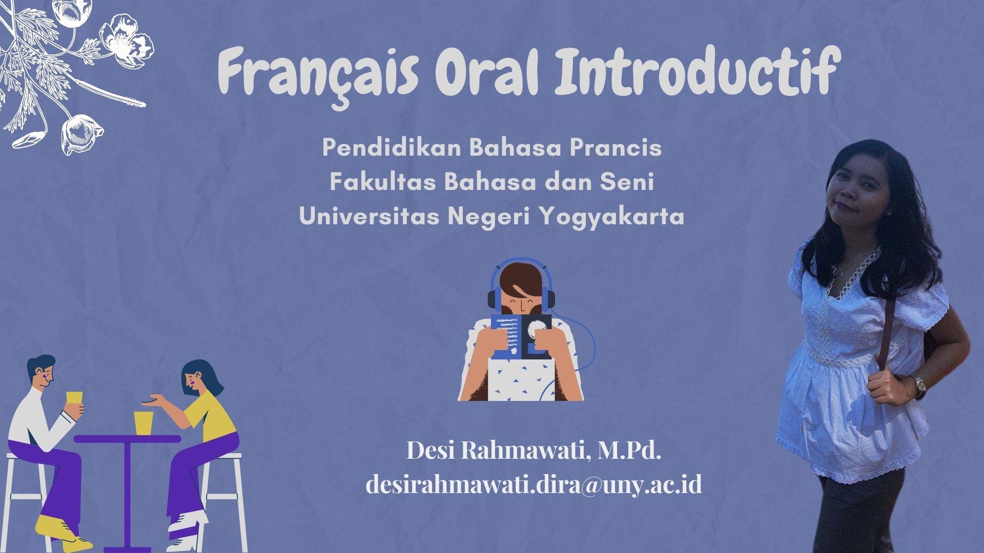 Français Oral Introductif (DR)