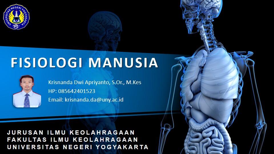 Fisiologi Manusia TA 2020/1