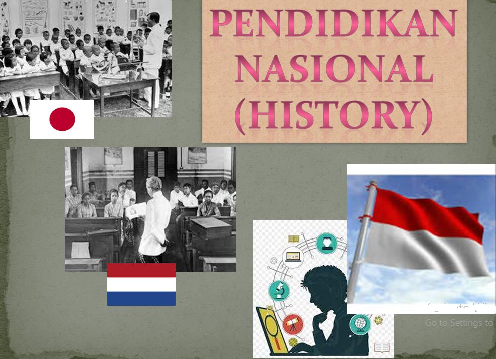 Pendidikan Nasional (History)