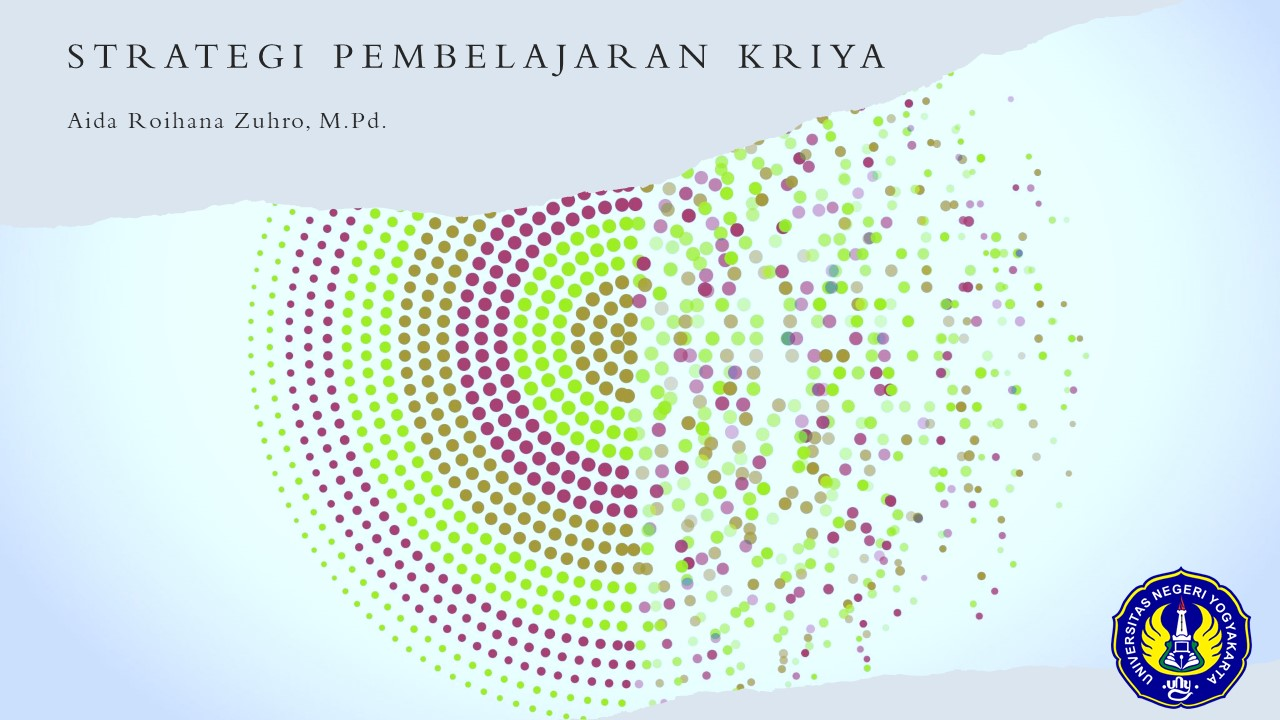 Strategi Pembelajaran Kriya - SSK6202 - ARZ