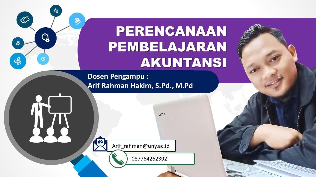 Perencanaan Pembelajaran Akuntansi (Pak ARH)
